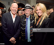 Keith & Patty at Bruce Willis' birthday party, NY, March 21st, 2015