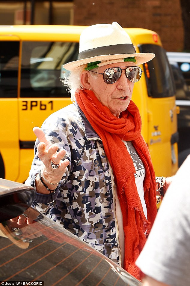 Keith in NYC on his way to the studio, June 30 July 2017
