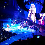 The Rolling Stones on stage, Chicago, United Center, June 3 2013