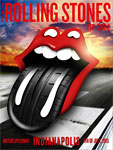 Rolling Stones Indianapolis, July 4, 2015 - Poster