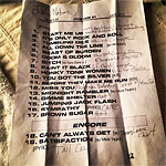Hyde Park-1 06 July 2013 - Setlist with L'Wren's notes