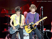 The Rolling Stones on stage in Atlanta, Georgia - June 9, 2015 photo by Wendy Fenner