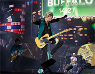 Rolling Stones on stage, Buffalo, July 11, 2015  (Photo: facebook.com/officialkeef)
