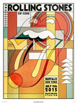 Rolling Stones, Buffalo, July 11, 2015 - Poster