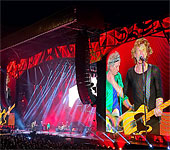 The Rolling Stones in Orlando, Florida - The Stones on stage - June 12, 2015