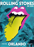 The Rolling Stones in Orlando, Florida - Orlando Poster - June 12, 2015