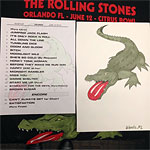 The Rolling Stones in Orlando, Florida - The Setlist - June 12, 2015