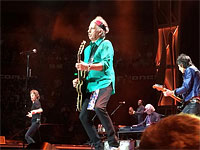 The Rolling Stones on stage in Sydney, Nov. 12, 2014