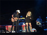 The Rolling Stones in Nashville, Tennessie - Brad Paisley & Carrie Underwood - June 17, 2015