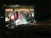 The Rolling Stones on stage in Nashville, Tennessie - June 17, 2015