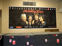 Before the show - The Rolling Stones - Philadelphia-1, June 18 2013