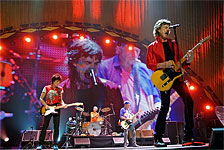 The Rolling Stones on stage, Los Angeles, May 20 2013