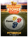 The Rolling Stones in Pittsburgh, Pennsylvania - Poster - June 20, 2015