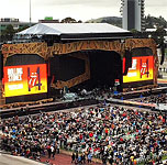 Auckland 2014 - the stage