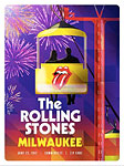 The Rolling Stones Milwaukee Summerfest, Wisconsin - Poster2 - June 22, 2015