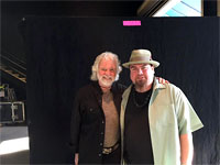 Chuck meets Marty Sammon - Keyboardist for Buddy Guy! The Rolling Stones Milwaukee Summerfest, Wisconsin, June 23, 2015