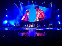 On stage! The Rolling Stones Milwaukee Summerfest, Wisconsin, June 23, 2015