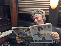 Keith travelling by bus to San Diego, May 23, 2015