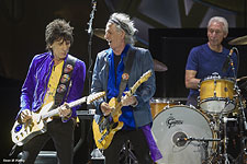 The Rolling Stones on stage - San Diego, May 24, 2015