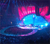 The band on stage - The Rolling Stones - Washington, June 24 2013