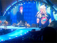 The Rolling Stones on stage, IORR with Carrie Underwood, Canada, May 25 2013
