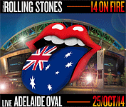 The Stones at the Adelaide Oval - Adelaide, October 25, 2014