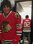 Before the show, Chicago, United Center, May 28 2013
