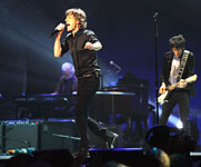 The Rolling Stones on stage, Chicago, United Center, May 28 2013