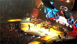 The Rolling Stones on stage, Chicago, United Center, May 31 2013
