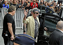 The Rolling Stones Stockholm, July 1, 2014 - on their way to the gig - thx to Buy buy Johnny, Aftonbladed, Jerker Ivarssonn, P-O S�nn�s