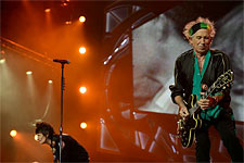The Rolling Stones Stockholm, July 1, 2014 - The band on stage!