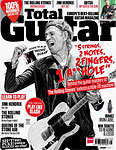 Keith issue of Total Guitar 8-2013