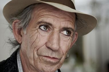 Keith Richards recently 2010