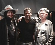 Keyon Harrold, Don Was and Keith Richards in New York