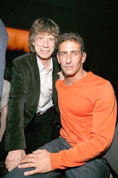 Mick Jagger attends Ben Watts' birthday party at The Double Seven on January 19, 2012 in New York City