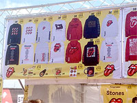 The Merch - The Rolling Stones in London, May 22, 2018