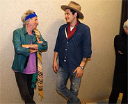 John Mayer backstage meeting Keith and Charlie, May 16 2013